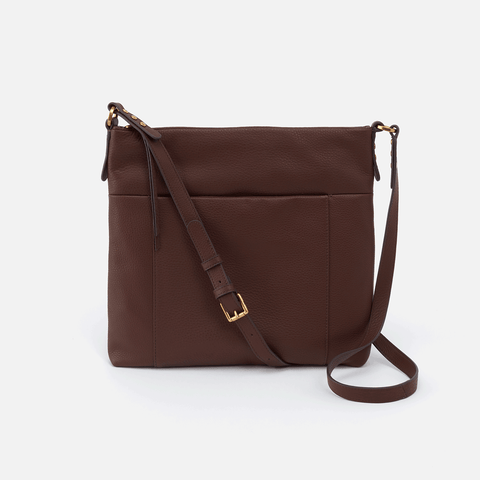 Forest Brown Leather Crossbody & Shoulder Bag