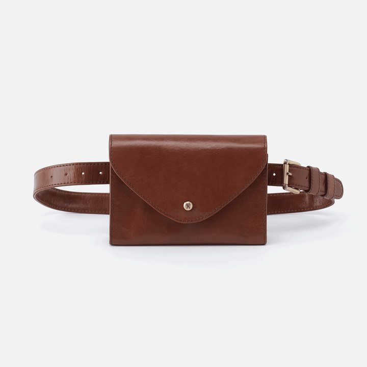Forte Brown Leather Belt Bag