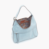 Whisper Blue Fortune Shoulder Bag  Hobo