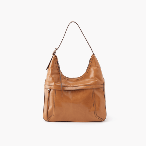 Fortune Cognac Brown Leather Shoulder Bag