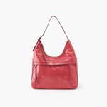 Fortune Pink Leather Shoulder Bag