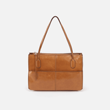 Friar Cognac Brown Leather Satchel