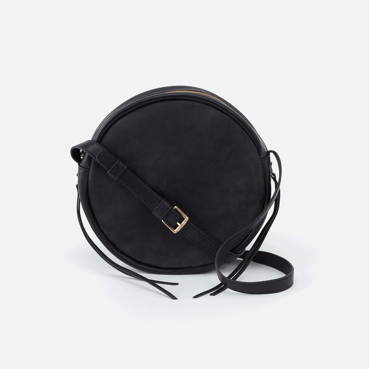 Groove Black Leather Small Crossbody