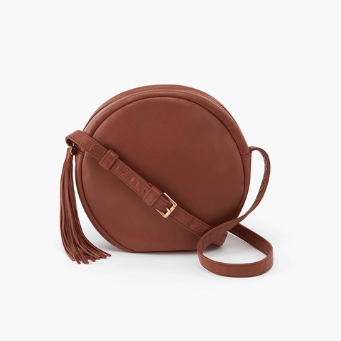 Groove Brown Leather Small Crossbody