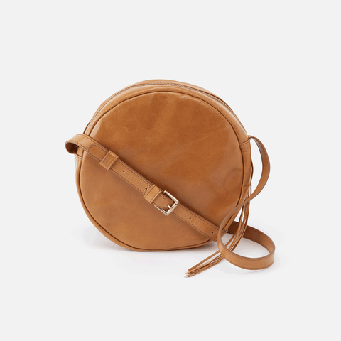 Groove Cognac Brown Leather Small Crossbody