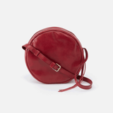 Groove Red Leather Small Crossbody