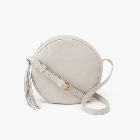 Groove White Leather Small Crossbody