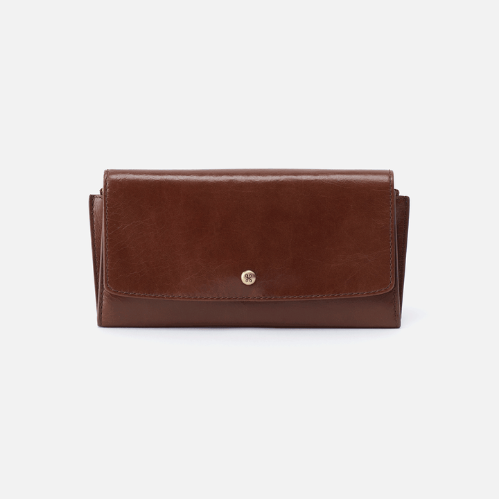 Gust Brown Leather Large Wallet