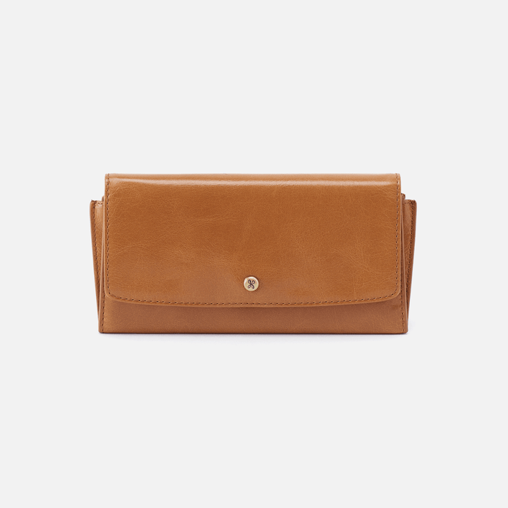 Gust Cognac Brown Leather Large Wallet