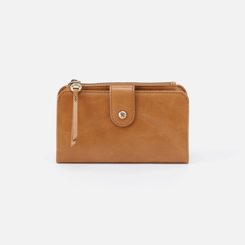 Herald Honey Leather Wallet