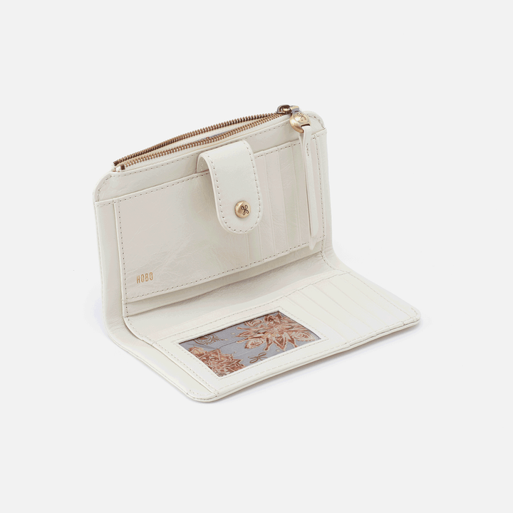 Herald Latte Leather Wallet