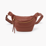 Jett Brown Leather Belt Bag
