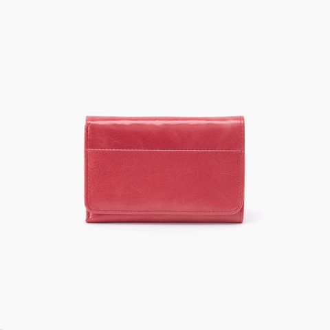 Jill Pink Leather Small Wallet