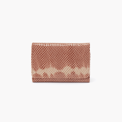 Jill Print Leather Small Wallet