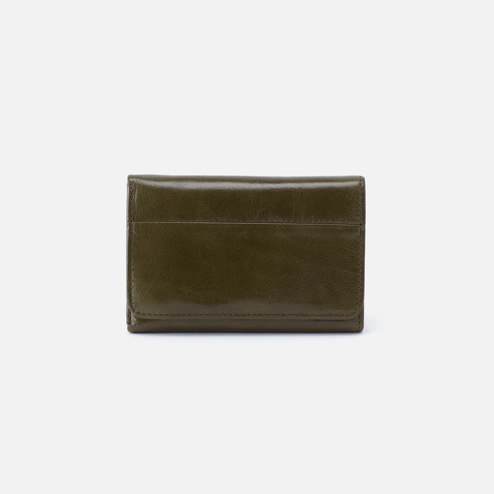 Jill Green Leather Wallet