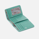 Jill Seafoam Leather Wallet