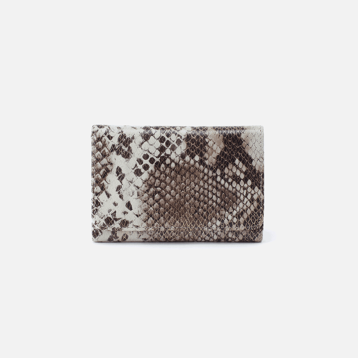 Jill Print Leather Wallet