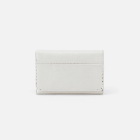Jill Latte Leather Wallet
