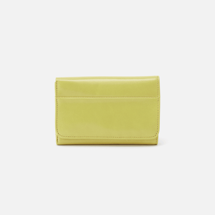Lemongrass Jill Trifold Wallet  Hobo