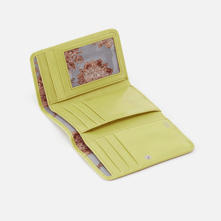 Jill Lemongrass Leather Wallet