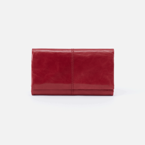 Keen Red Leather Large Wallet