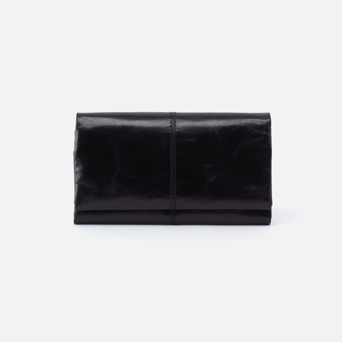 Keen Black Leather Wallet