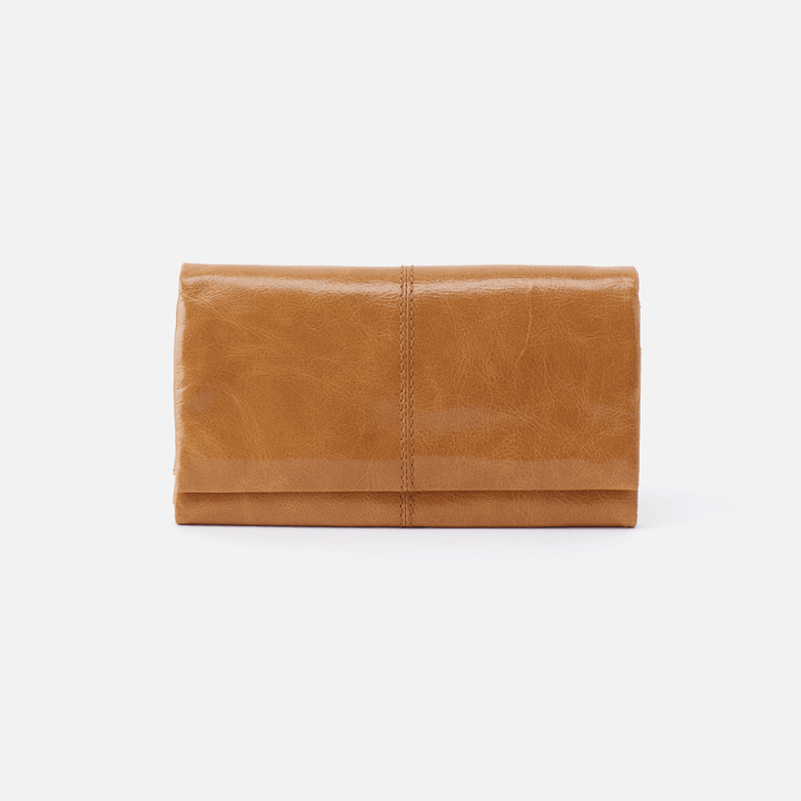 Keen Cognac Brown Leather Wallet