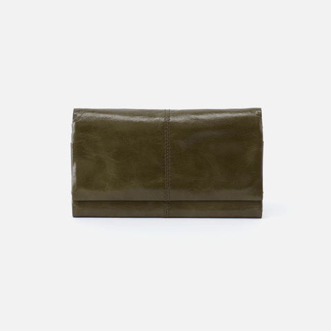Keen Green Leather Wallet