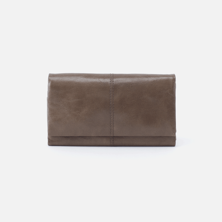 Keen Grey Leather Wallet