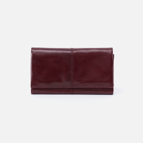 Keen Purple Leather Wallet