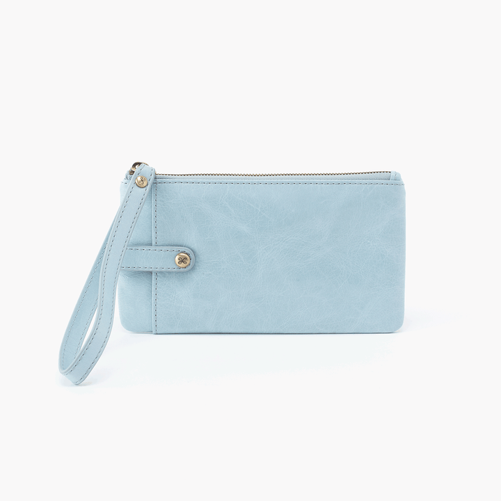 Whisper Blue King Smartphone Wristlet  Hobo
