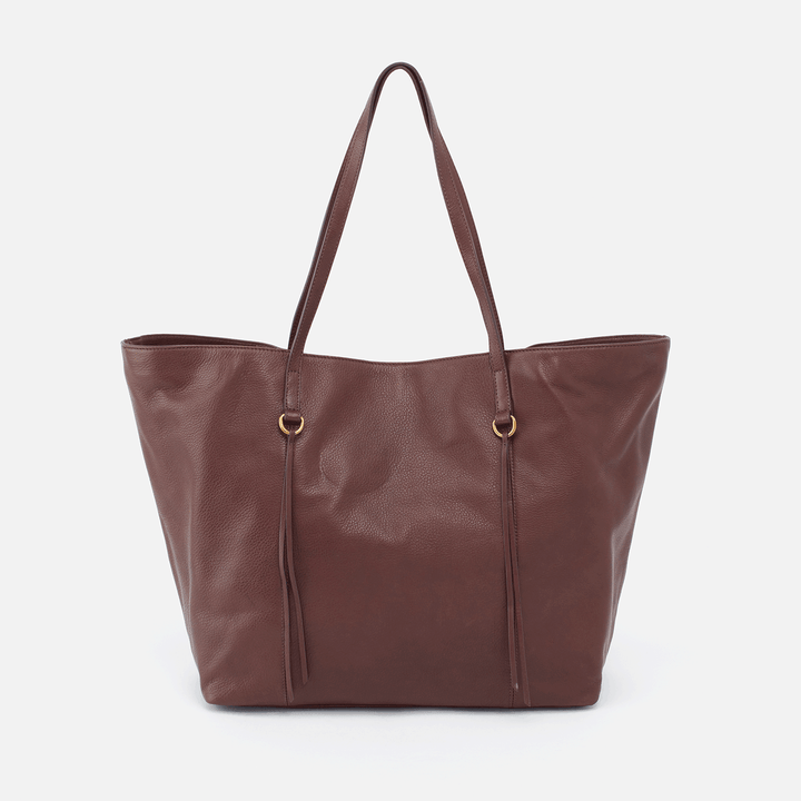Kingston Brown Leather Tote Bag