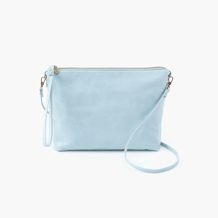 Kori Blue Leather Small Crossbody