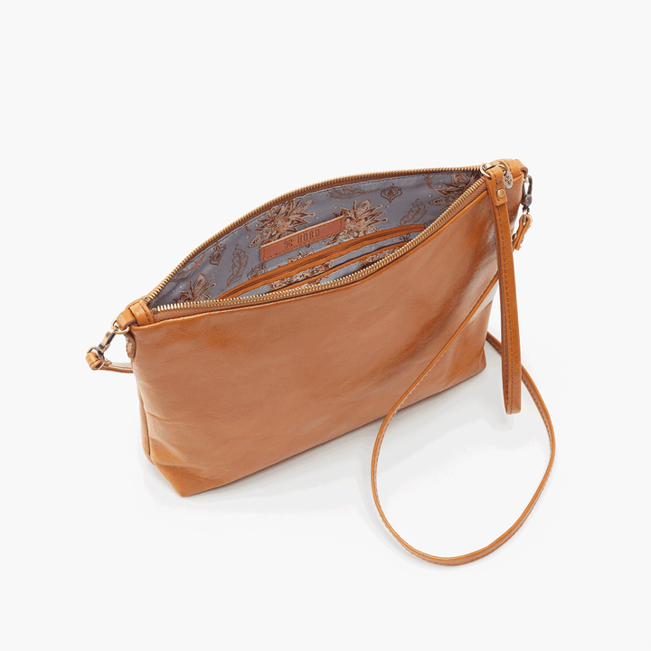 Kori Cognac Brown Leather Small Crossbody