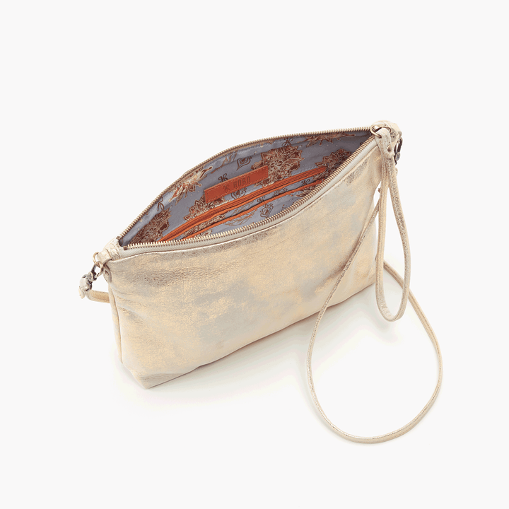 Kori Gold Leather Small Crossbody