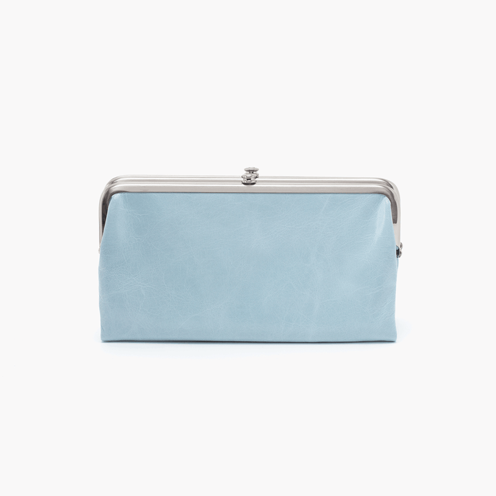 Whisper Blue Lauren Clutch Wallet  Hobo