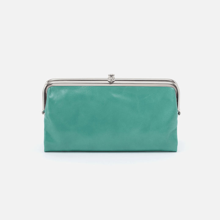 Seafoam Lauren Clutch Wallet  Hobo