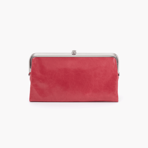 Lauren Pink Leather Clutch Wallet