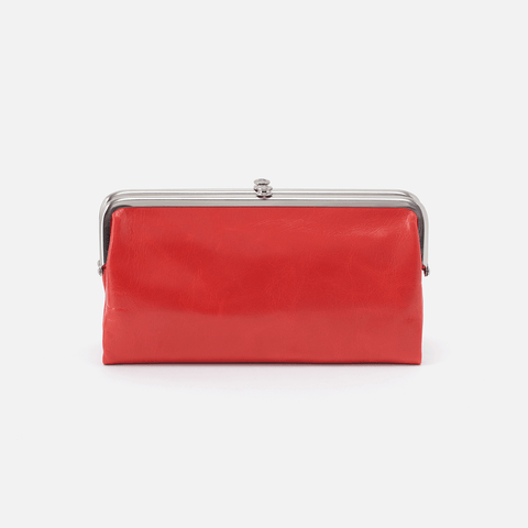 Lauren Rio Leather Clutch Wallet