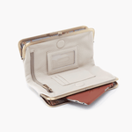Lauren White Leather Clutch Wallet
