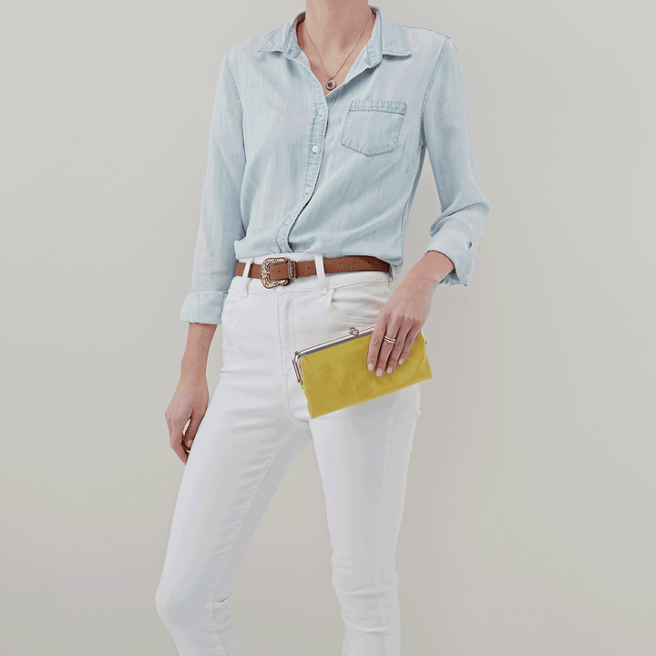 Lemongrass Lauren Clutch Wallet  Hobo