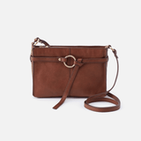 Libra Brown Leather Crossbody