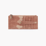 Linn Print Leather Credit Card Wallet
