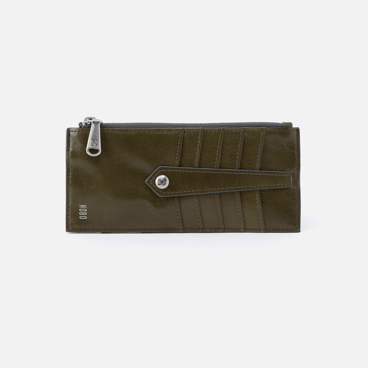 Linn Green Leather Credit Card Wallet