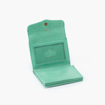 Luck Light Green Leather Wallet