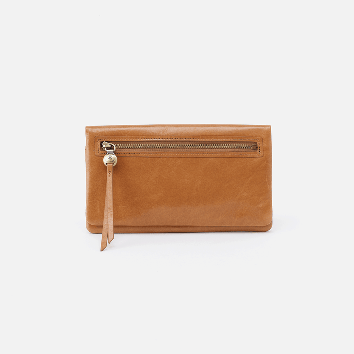 Lumen Honey Leather Wallet