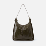 Marley Green Leather Hobo