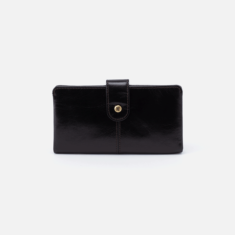 Marshal Black Leather Wallet