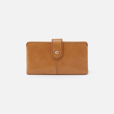 Marshal Honey Leather Wallet