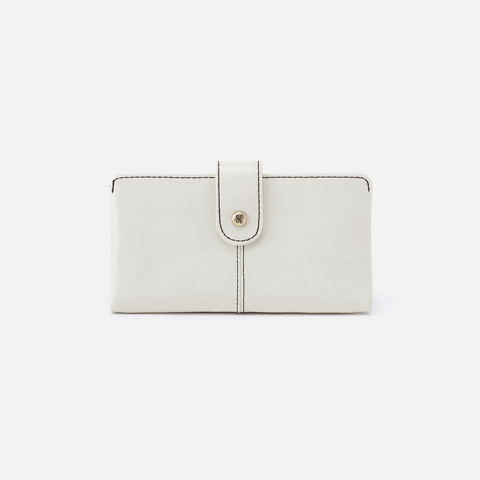 Marshal Latte Leather Wallet